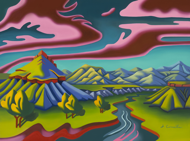 Joseph Comellas, 'Rio Chama Valley  (canvas print or Hahnemühle paper )', 2019, Print, Ultrachrome inks on canvas  master stretcher bars, Gallery13