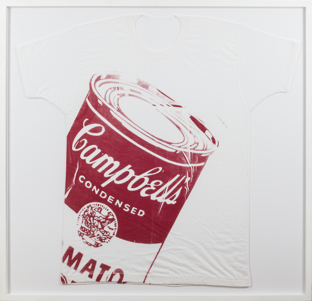 "Andy Warhol, '""Campbell´s Soup Can T-Shirt""', 1962, Rudolf Budja Gallery"