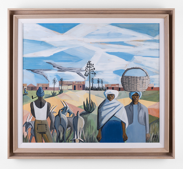 , 'African Pastoral,' 1960, SMAC