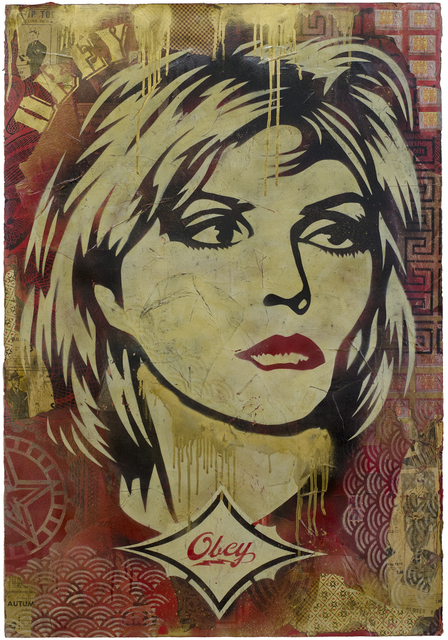 Shepard Fairey, 'Obey Debbie Harry Stencil', 2004, Black Book Gallery