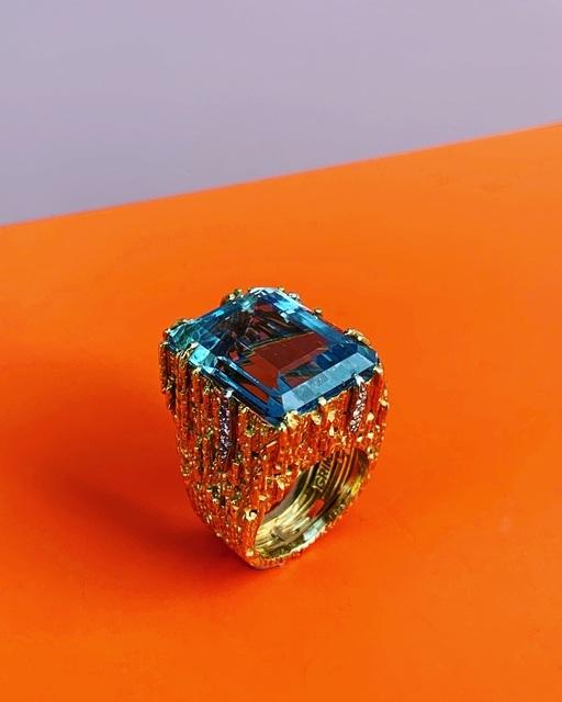 , 'Aquamarine Ring,' 1969, Grima