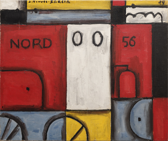 , 'Constructif locomotive nord (Constructive locomotive north),' 1929, The Museum of Modern Art