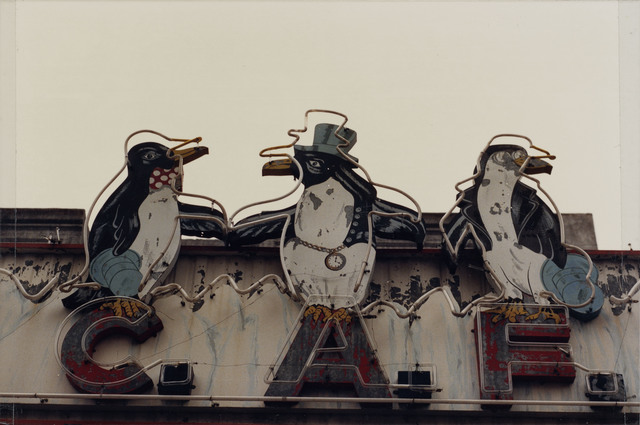 ", 'From the series ""Estampas Porteñas"", ""Three penguins, Mataderos"",' 1987, Rolf Art"
