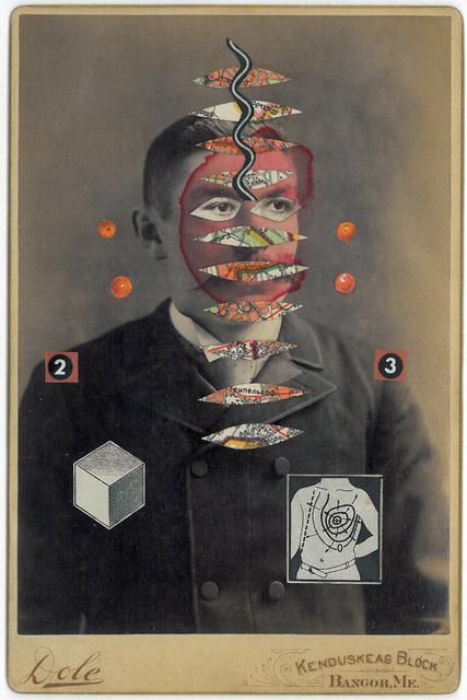 , 'Man with Spiral,' 2007-2010, Muriel Guépin Gallery