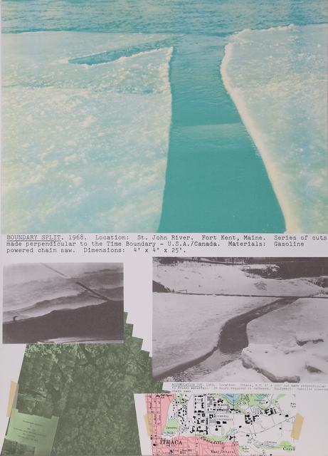 Dennis Oppenheim, 'Boundary Split', 1979, RoGallery