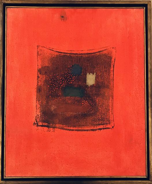 Antônio Bandeira, 's/titulo', 1965, samba arte contemporânea
