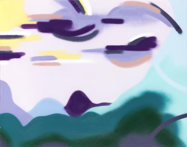 , 'Aqua Mountainside,' 2014, Fountain House Gallery