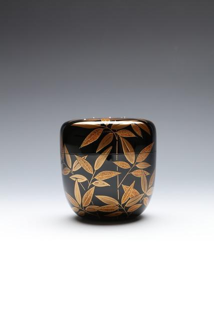 Chuun Tada, 'Tea Caddy with Silver Dew Droplets (T-4462)', Showa era (1912, 1926), 1980s, Erik Thomsen
