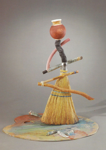 , 'Broom and Palatte Bottle,' , Seager Gray Gallery