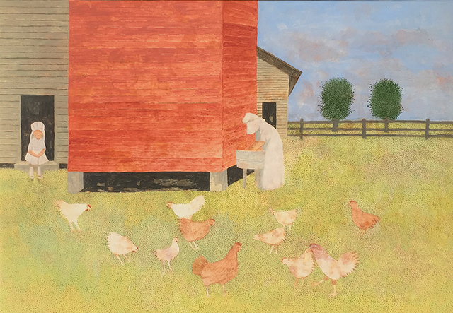 , 'Chickens,' 1993, Greg Thompson Fine Art