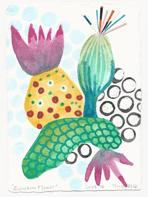 , 'Zucchini Flower,' 206, Herringer Kiss Gallery