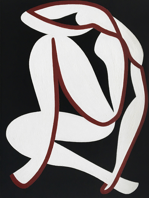 , 'L'attesa (after Matisse),' 2017, Alon Zakaim Fine Art