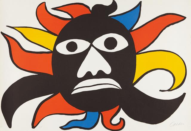 Alexander Calder, 'Black Face/Sun', 1969, Phillips