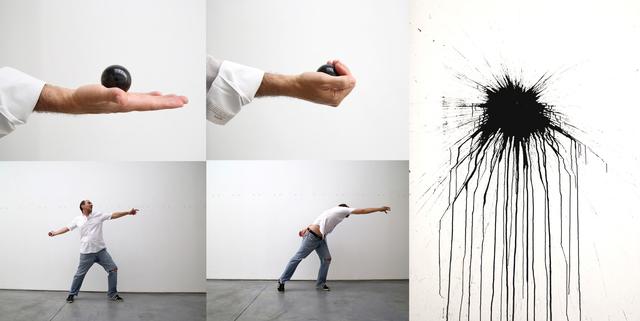 , 'Intervention at Max Estrella Gallery,' 2015, Max Estrella