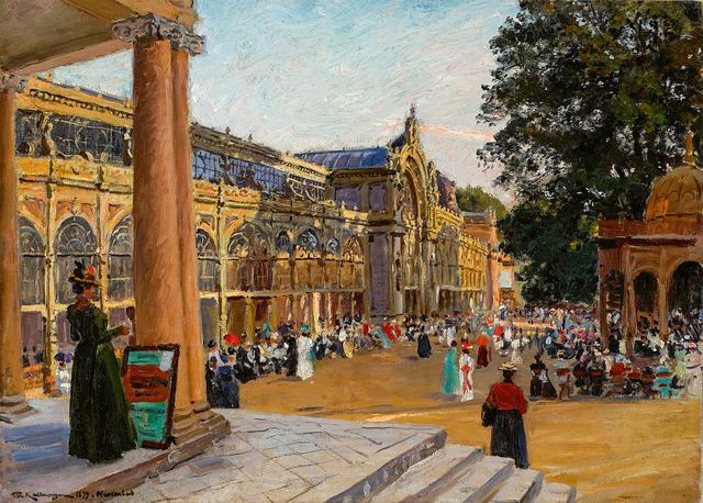 , 'Marienbad,' 1899, Galerie Herold