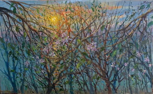 , 'Early Blossoms by the Chattahoochee,' 2017, Galerie d'Orsay