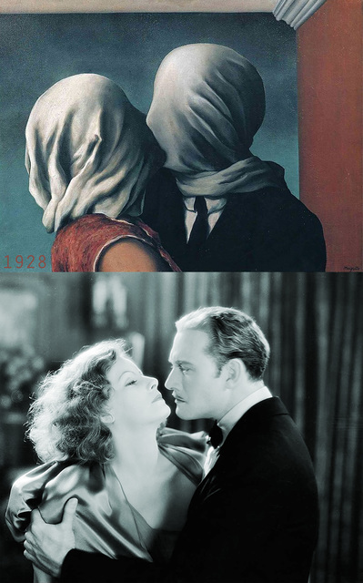 , '1928, The Mysterious Lady - Rene Magritte, The Lover,' 2018, Jean Albano Gallery