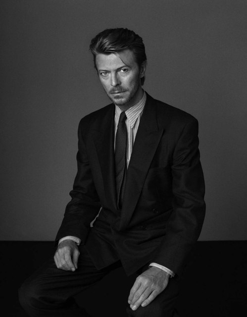 , 'David Bowie: In 1989, Grey And Blown I,' 1989, Snap Galleries