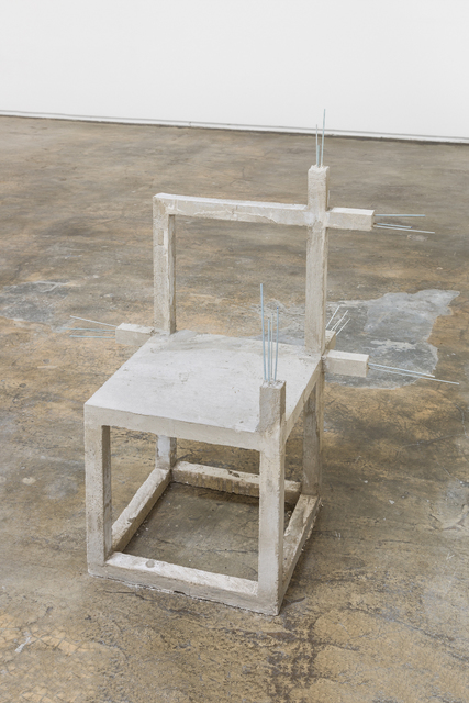 , 'Unfinished concrete chair #14,' 2015, Baginski, Galeria/Projectos