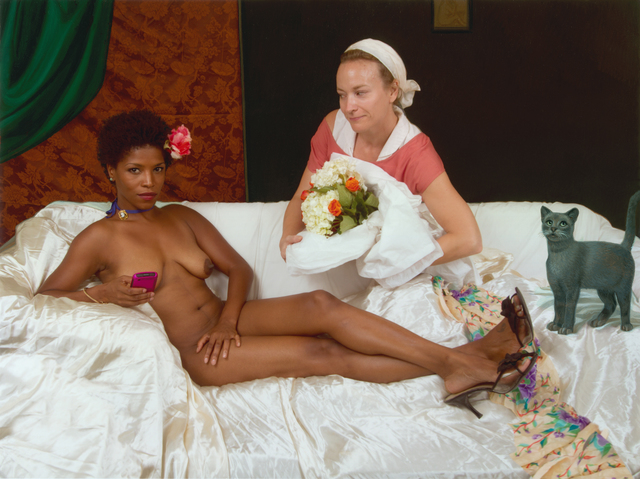 , 'Ode to Manet's Olympia,' 2011, Jonathan Ferrara Gallery