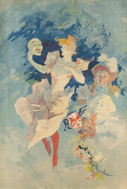 , 'La Comedie,' ca. 1891, Christopher-Clark Fine Art