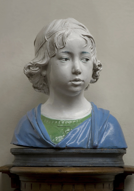 , 'Bust of a Young Boy,' ca. 1475, Museum of Fine Arts, Boston