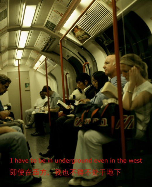 "Zhao Bandi, '""I have to be underground even in the West""', 2003, Photography, C-print, ShanghART"
