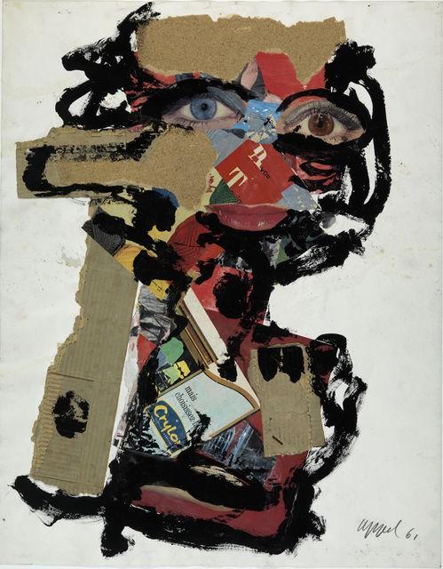, 'Visage de femme,' 1961, Centre Pompidou