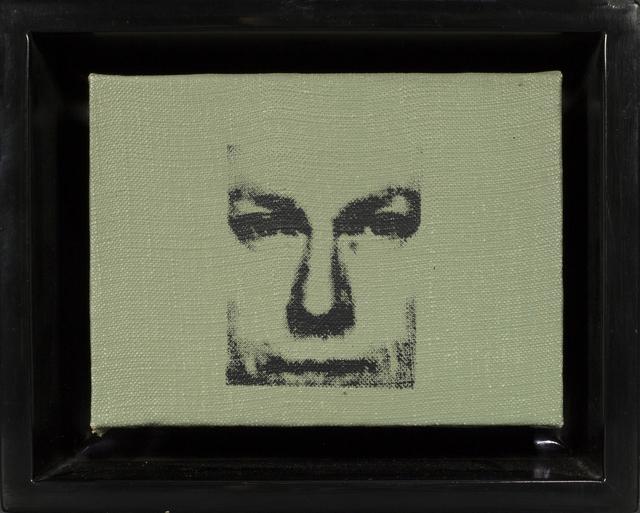 Andy Warhol, 'Donald Judd', 1967, Painting, Acrylic and silkscreen ink on canvas, Rudolf Budja Gallery