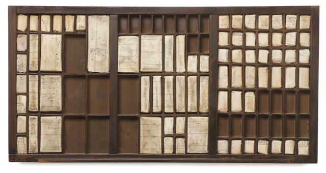 , 'Typography drawer,' 2010, Piero Atchugarry Gallery