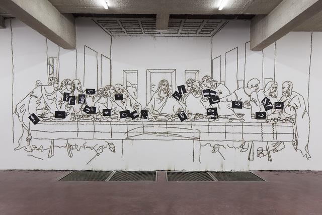 , 'Sic Transit Gloria Mundi (The Last Supper after Leonardo Da Vinci),' 2016, Dvir Gallery
