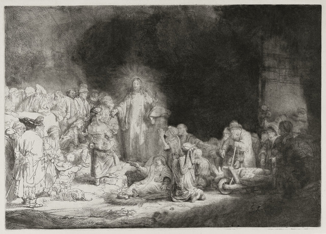 , 'The Hundred guilders print,' 1648, Centre for Fine Arts (BOZAR)
