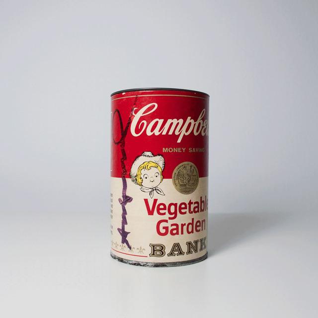 , 'Campbell's Soup Can Bank (Vegetable Garden),' Circa 1977, MLTPL