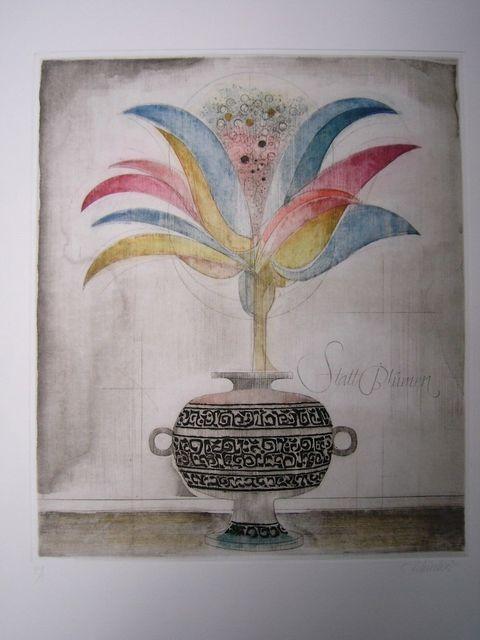 Alfred Finsterer, 'Wunderblume', 1980, Sylvan Cole Gallery