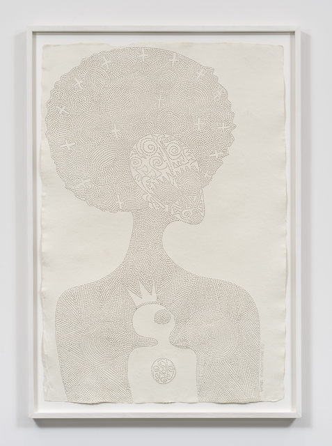 , 'I am Emotan, the Benin woman that hid a young troubled king,' 2017, Tyburn Gallery