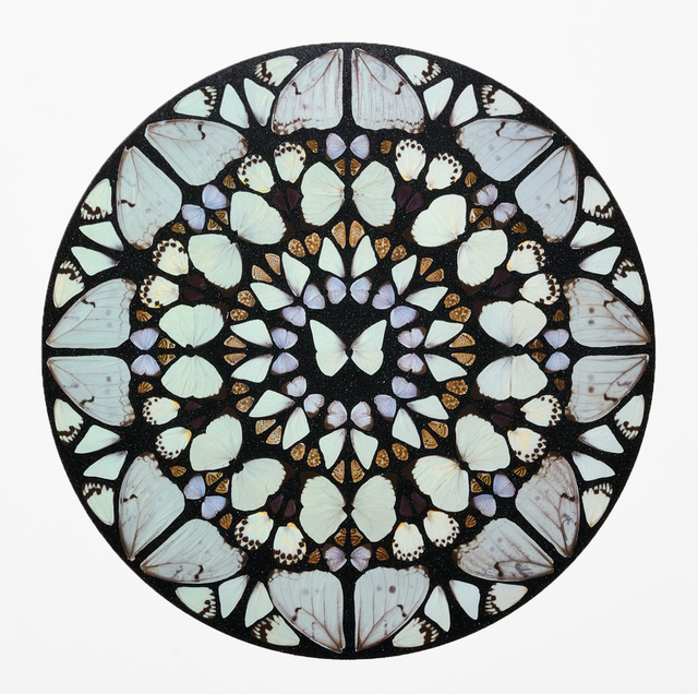 Damien Hirst, 'Benedictus Dominus', 2009, Print, Silkscreen print with glaze and diamond dust, Almine Rech