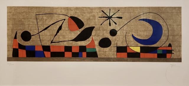 Joan Miró, 'Mur De La Lune (D.471).', 1958, Off The Wall Gallery