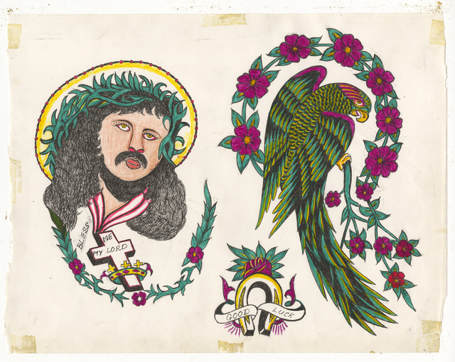, 'Untitled (Parrot Jesus Head),' ca. 1950, Ricco/Maresca Gallery