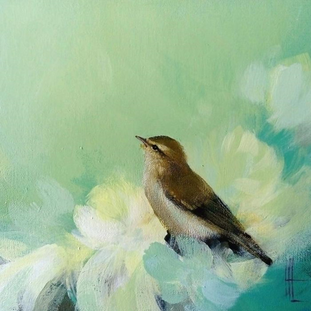 , 'Warbler in Green,' 2019, Art5 Gallery
