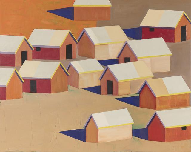 , 'Shelters Huts 2,' 2018, Desta Gallery