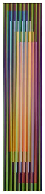 , 'Color aditivo serie larga Panam 3,' 2011, Galería RGR