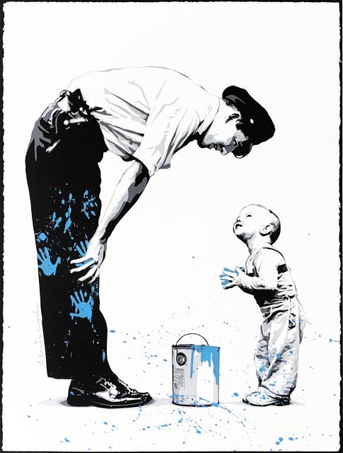 Mr. Brainwash, 'NOT GUILTY (BLUE)', 2011, Gallery Art