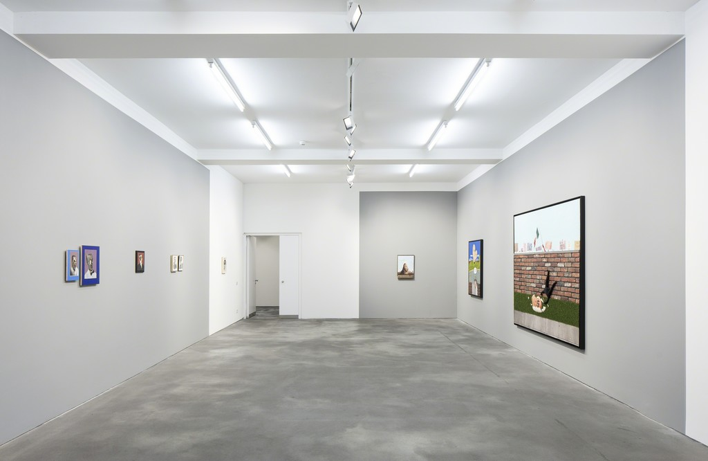 Installation view, Llyn Foulkes 'Transfiguration', Sprüth Magers, Berlin, September 16 - December 22, 2017; Photography by Timo Ohler