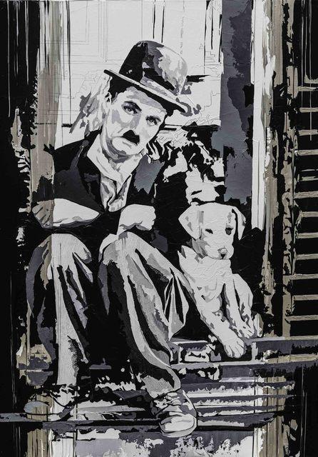 Valérie Durand, 'Charlie Chaplin Chien', ca. 2017, Galerie Vivendi