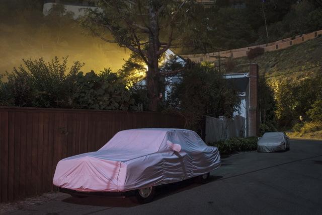 , 'Sleeping Car, Sunset Plaza Drive #4,' 2012, Fahey/Klein Gallery
