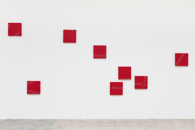 Robert Barry, 'Untitled', 2019, Painting, Acrylic on canvas, Galeria Jaqueline Martins