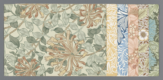 William Morris, 'Sample book,' 1887, Cooper Hewitt, Smithsonian Design Museum