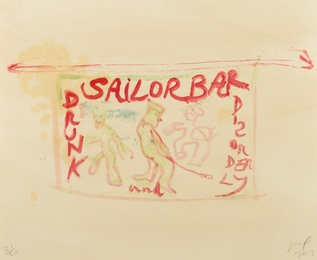 Peter Doig, 'Sailor Bar,' 2013, Forum Auctions: Editions and Works on Paper (March 2017)
