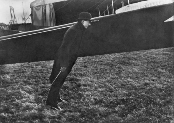 , 'Buc. Zissou Levant de 'helice de l'aeroplane Ensault Pelterie,' 1911-printed 1978 under the supervision of the photographer, Scott Nichols Gallery