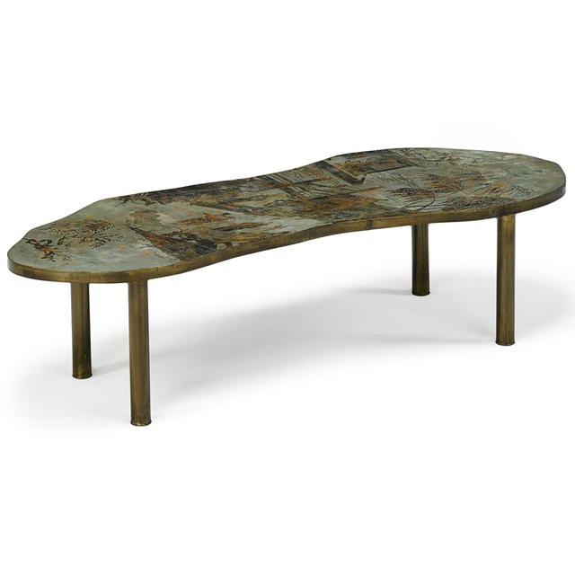 Philip Laverne, 'Coffee Table, New York', 1960s, Rago/Wright